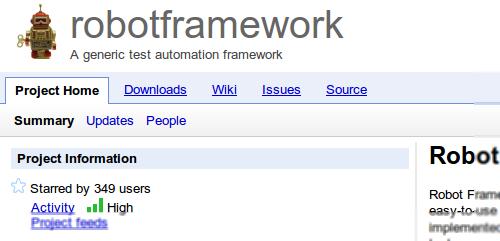 Testing using the Robot Framework  | any-where