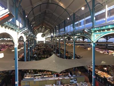 Les Halles - der Markt von Dijon